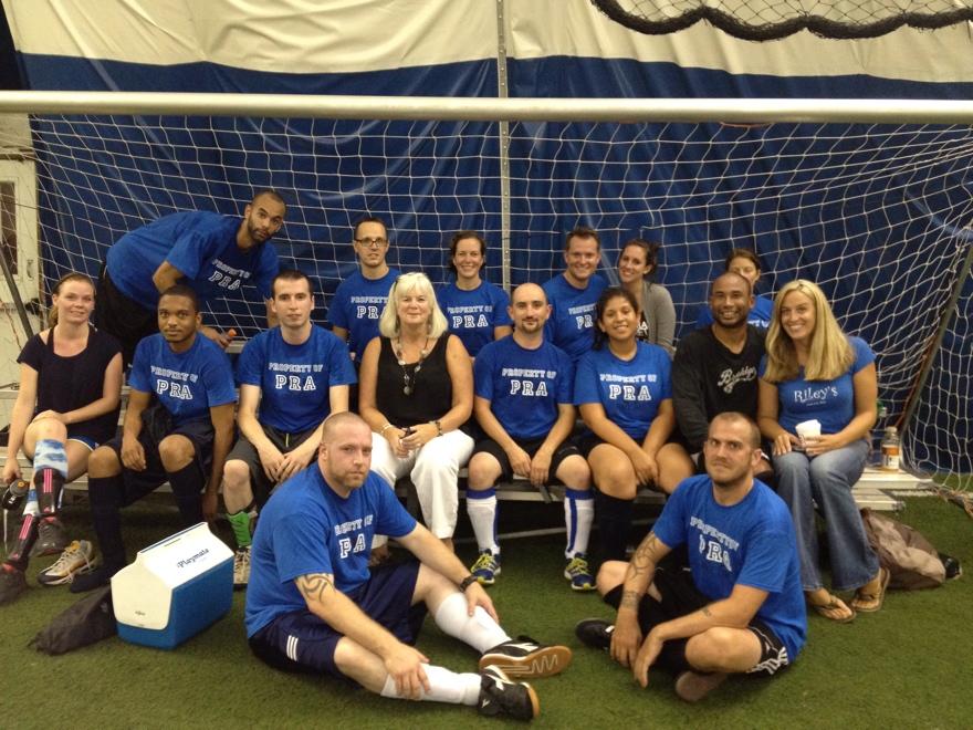 PRA Soccer Team