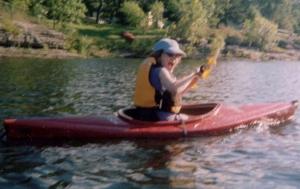 Janet M. kayaking - author provided image
