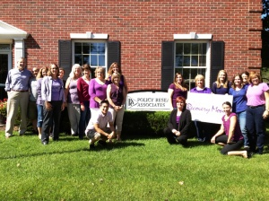 PRA staff celebrate Recovery Month - author provided image