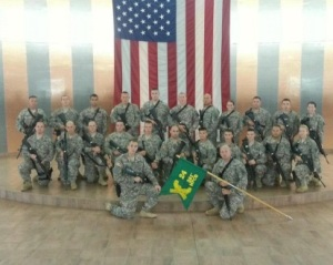 group photo of the 361st Military Police Company - author provided image