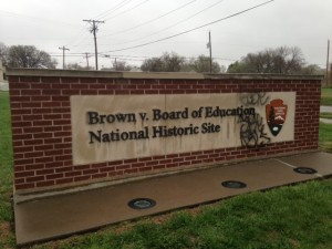 Brown vx Education Historical Site - author provided image