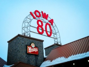 Iowa Route 80 - author provided image