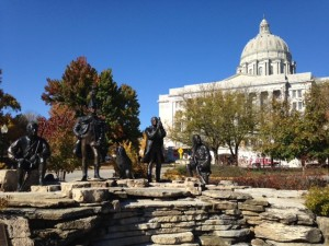 Louis and Clark Monument - author provided image