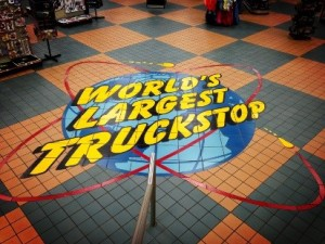 World's Largest Truckstop - author provided image