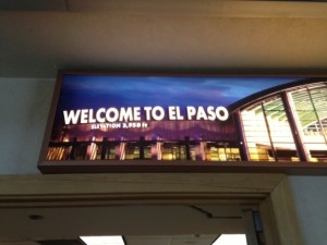Welcome to El Paso neon sign - author provided image