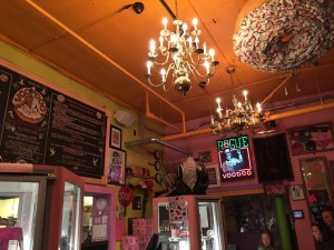 Inside VooDoo Doughnuts - author provided image