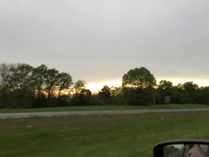 Driving to Birmingham, AL - author provided image