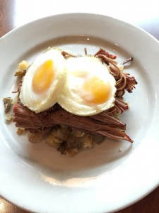 Airport Brisket & Hash - author provided image