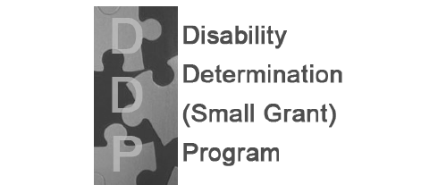 Disability Determination (Small Grant) Program Graphic