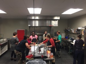 PRA Staff Help Prepare Unity House's Thanksgiving Meal - photo provided by Holley D