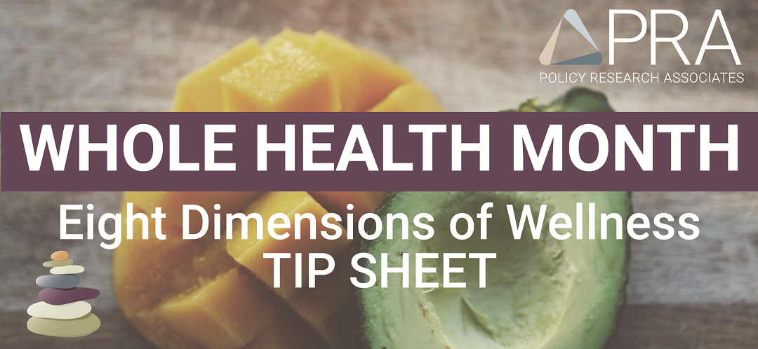 Whole Health Month Tip Sheet - Wellness