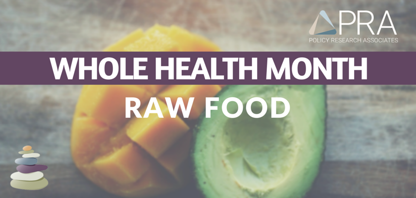 Raw Food Blog Header