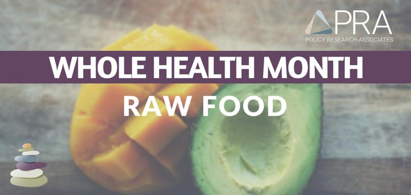 Raw Food Blog Header