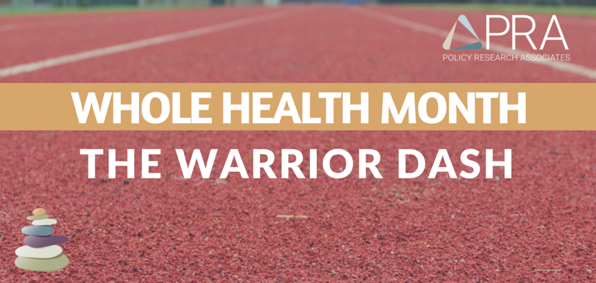 Whole Health Month Blog Header-The Warrior Dash