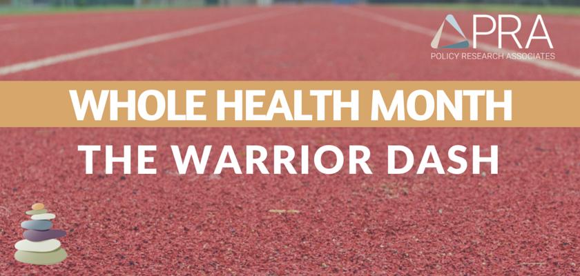 Whole Health Month Blog Header-The Warrior Dash