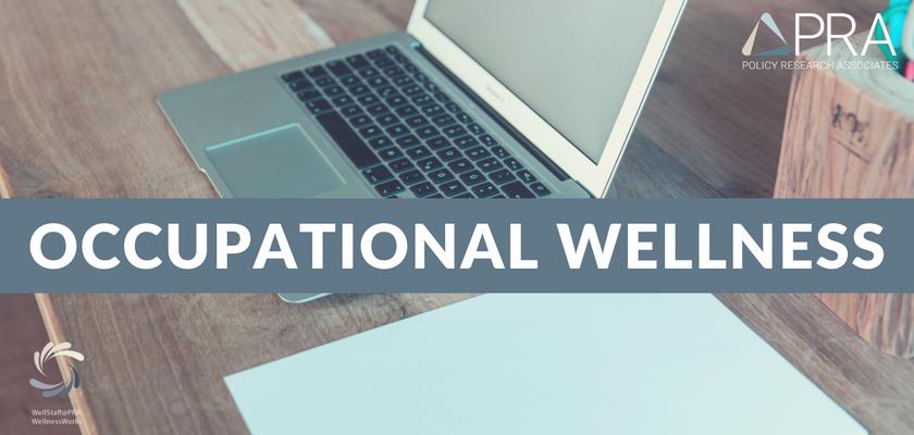 Occupational Wellness blog header