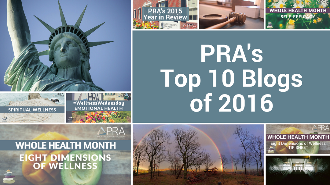 PRA's Top 10 Blogs of 2016