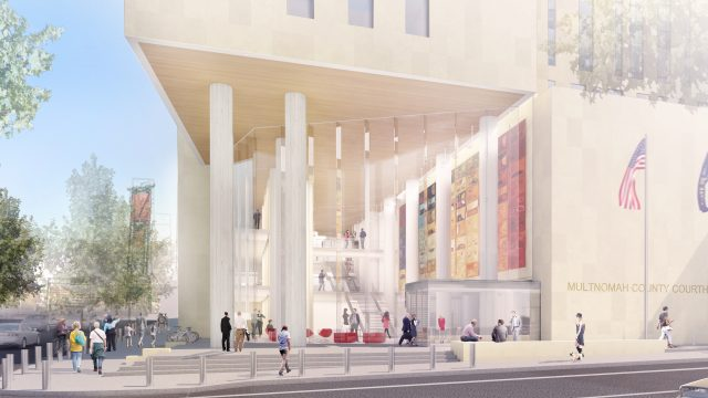 Multnomah County Courthouse Rendering