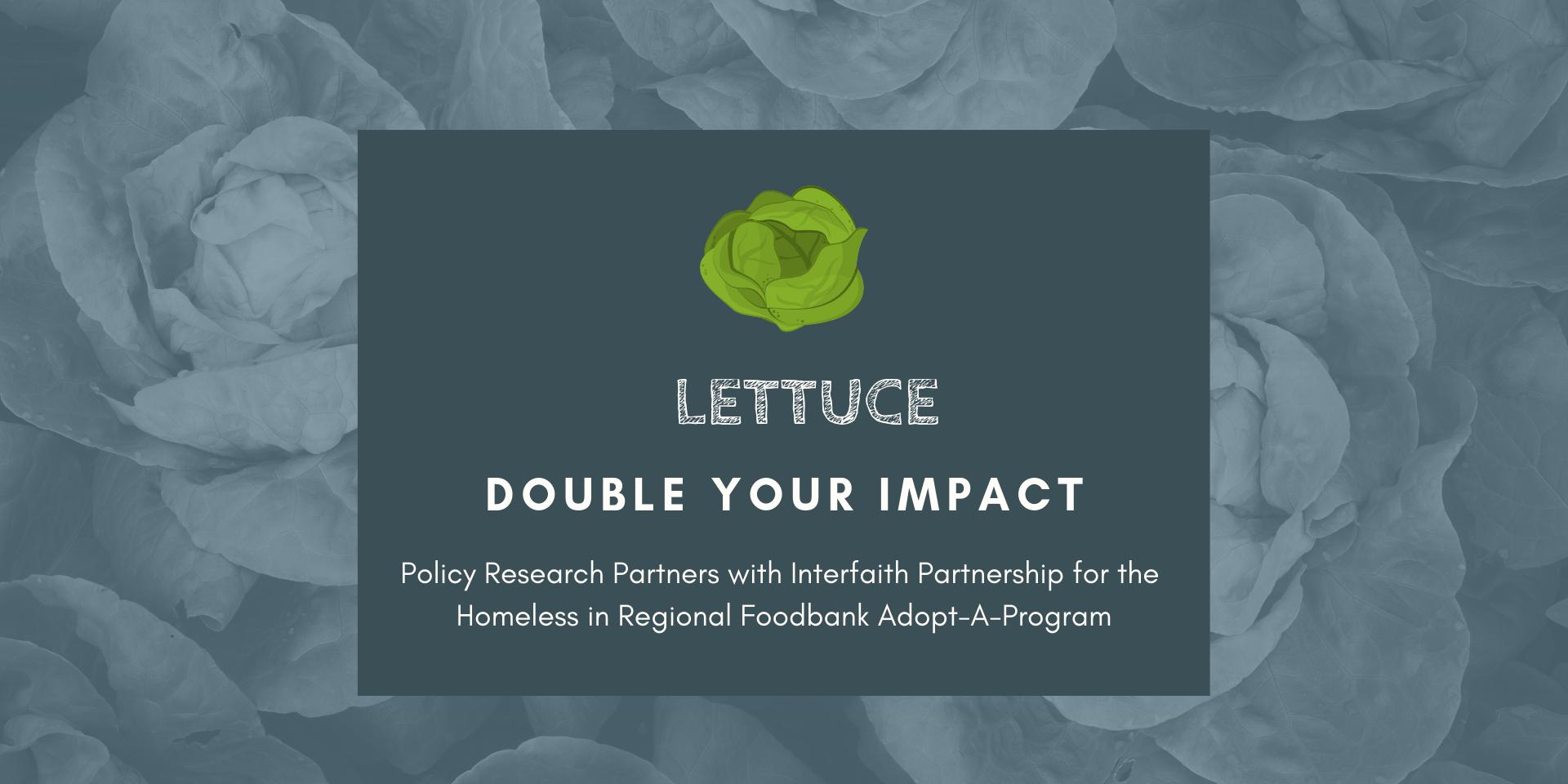 Lettuce - Adopt a Program