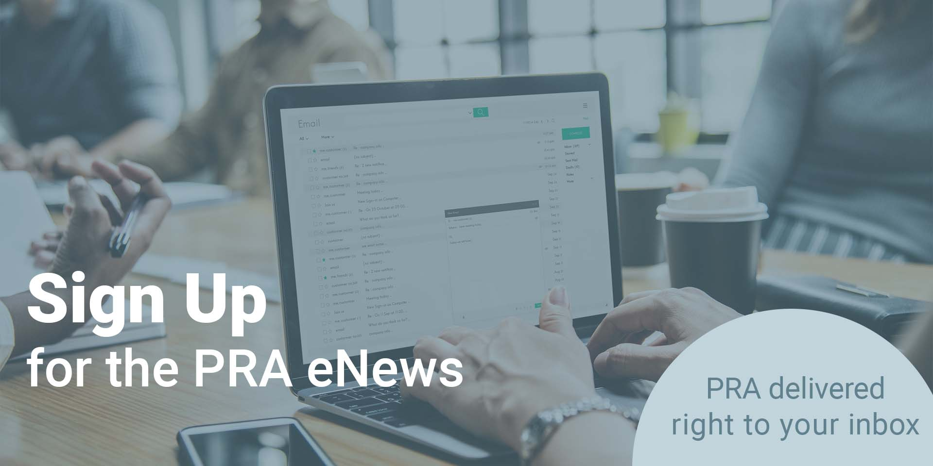 Sign Up for the PRA eNews