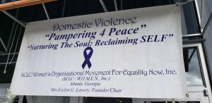 Pampering for Peace banner