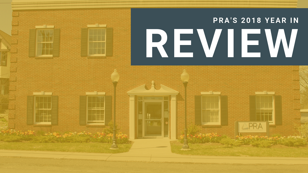 PRA's 2018 Year in Review