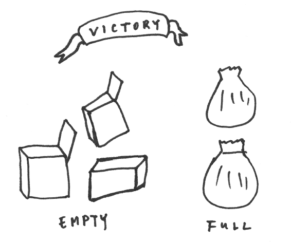 Tidying Victory