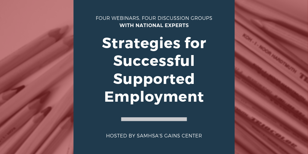 Strategies for Successful Supported Employment