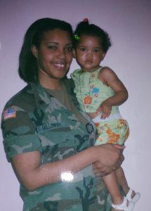Qwynn & daughter