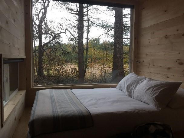 Getaway Cabin - Bedroom