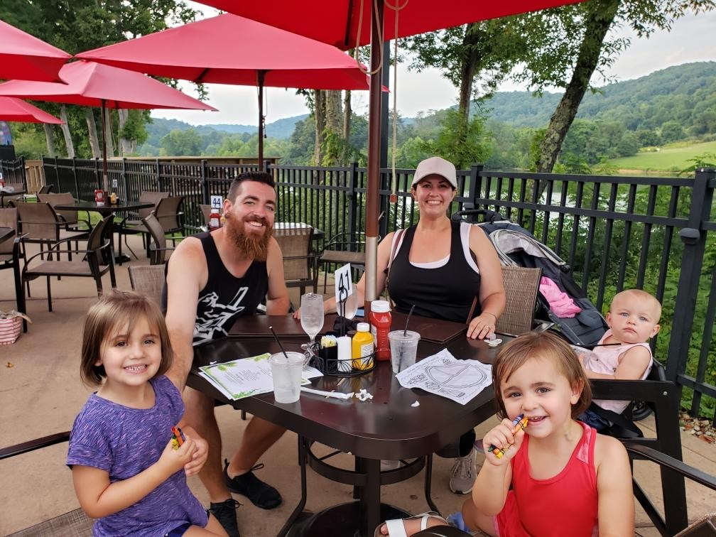"Amanda and Family on ""Workcation"" in West Virginia"