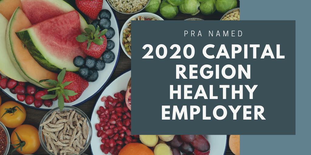 2020 Capital Region Healthy Employer