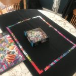 Puzzle sitting on a table