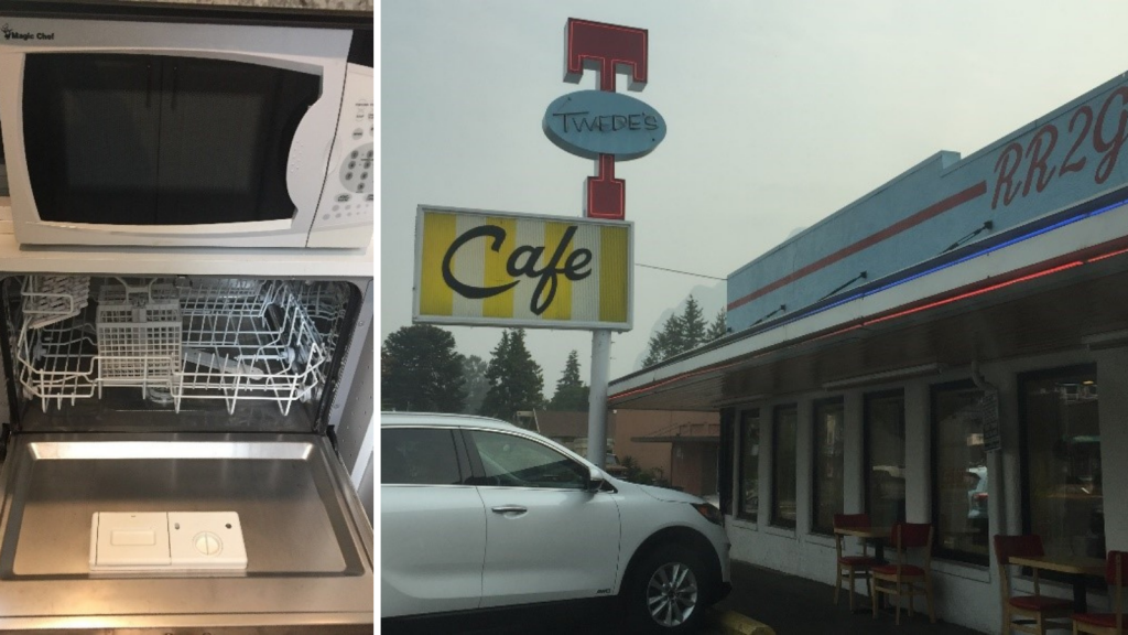 Tiny Dishwasher and Twede's Café