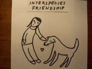 Interspecies Friendship between Human and Dog