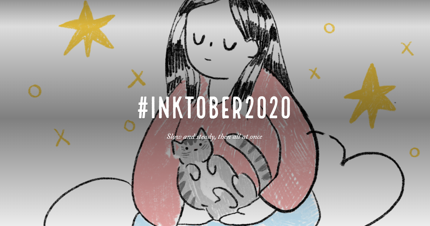 Inktober 2020 Blog Header