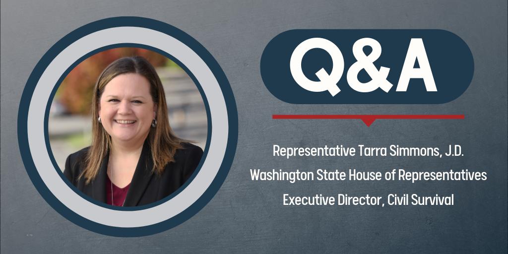 Q&A with Tarra Simmons, J.D.