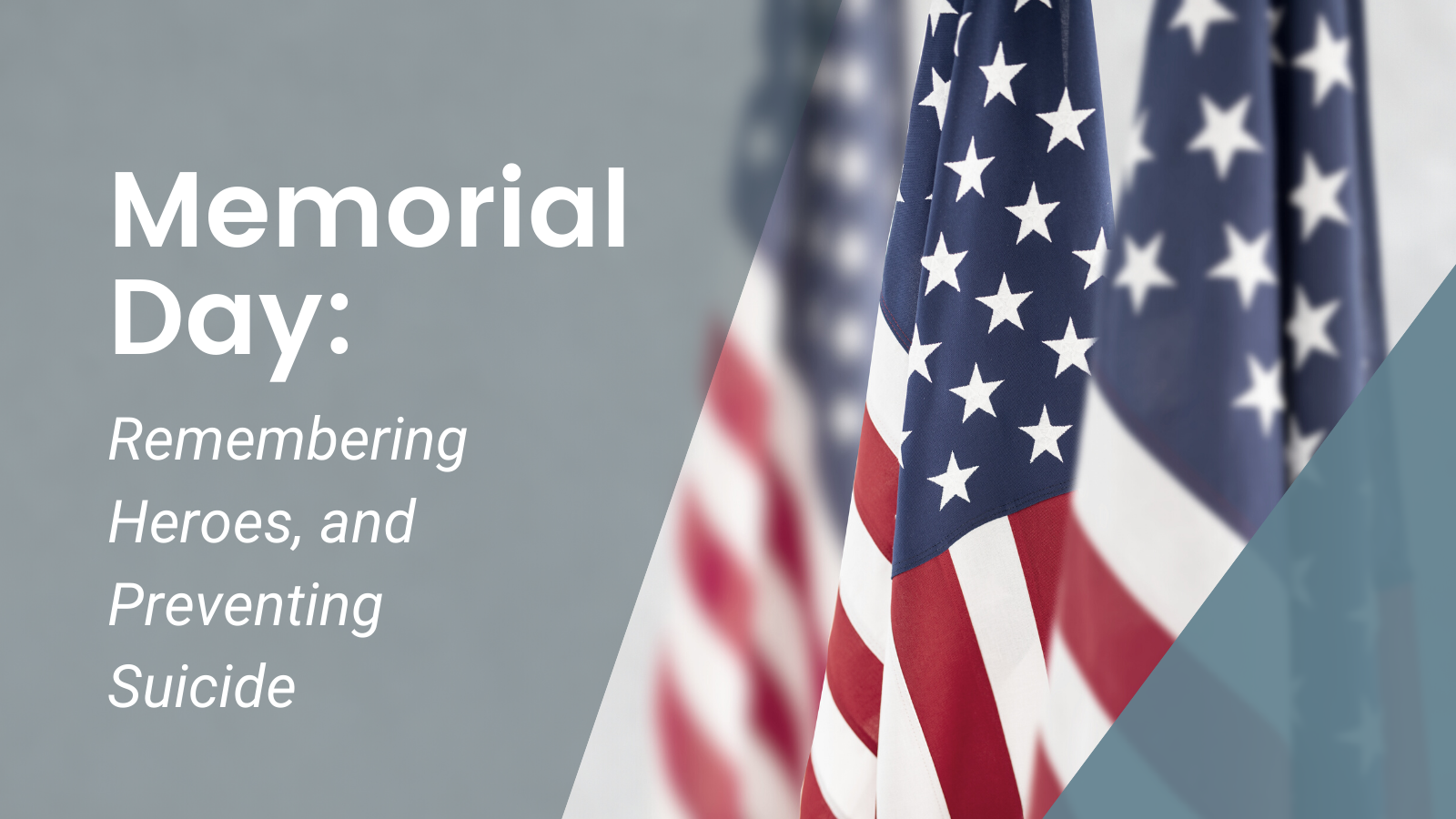 Memorial Day: Remembering Heroes, and Preventing Suicide