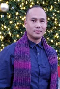 "Portrait of Borey ""Peejay"" Ai, Community Advocate, Asian Prisoner Support Committee"