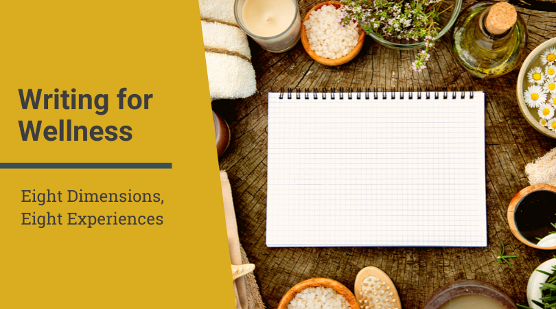 Writing for wellness: 8 dimensions in the past year